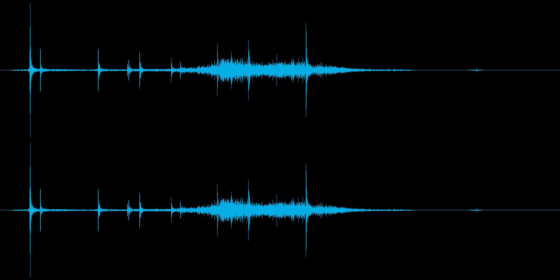 カシュ。キャップを開ける音A(炭酸入り)の再生済みの波形