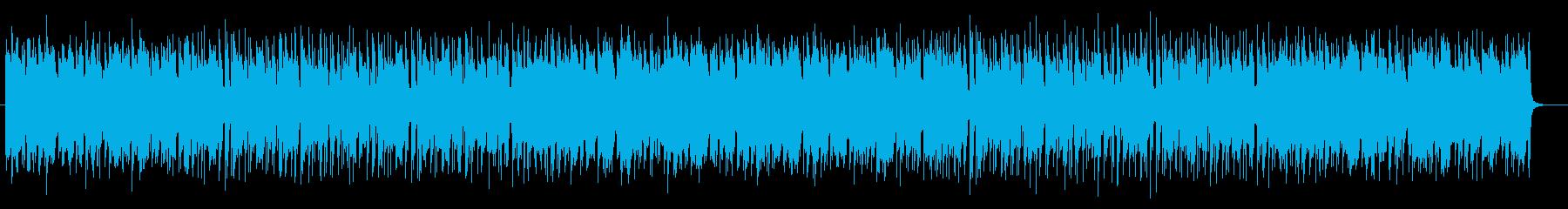 イベントが発生していない時のゲーム音楽の再生済みの波形