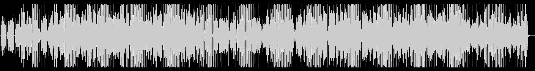 趣味 動物 コミカルなエレピのポップスの未再生の波形