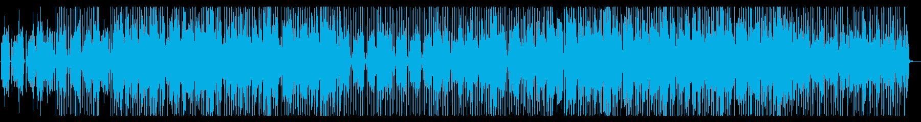 趣味 動物 コミカルなエレピのポップスの再生済みの波形