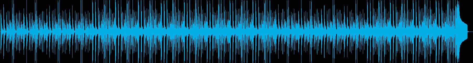 ほっこりするほのぼの系BGMの再生済みの波形