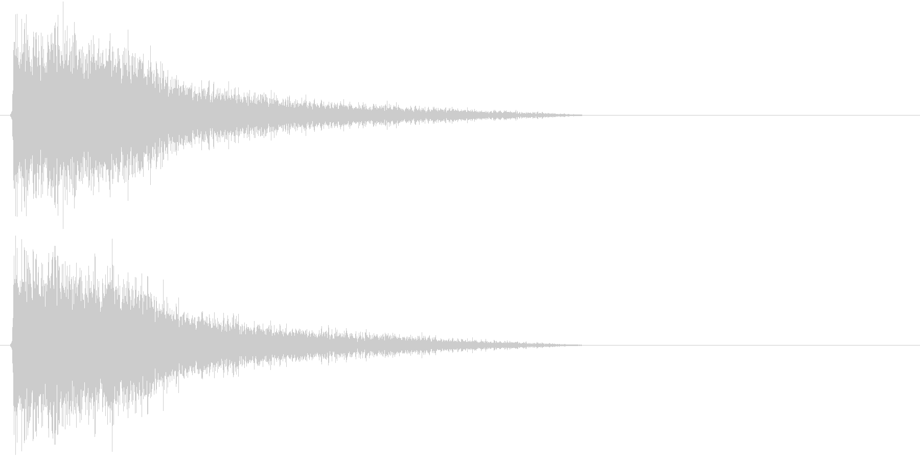 バヒューンの未再生の波形