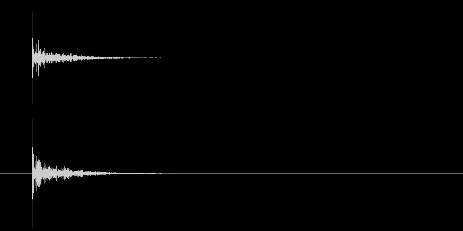 ジャッジの小::シングルヒット、ウ...の未再生の波形