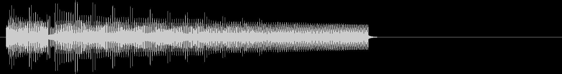 8bitでブブー!ハズレの音の未再生の波形