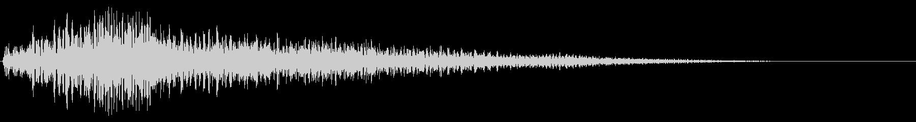 ニュース・ジングル・場面転換02(低音)の未再生の波形
