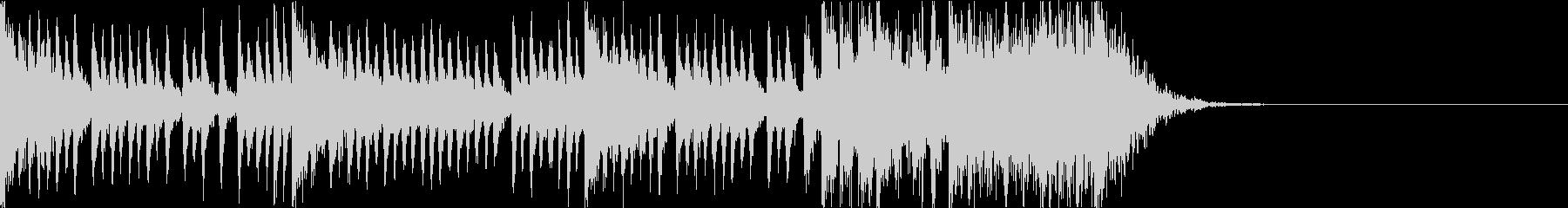 和太鼓アンサンブル/カウントダウン15秒の未再生の波形