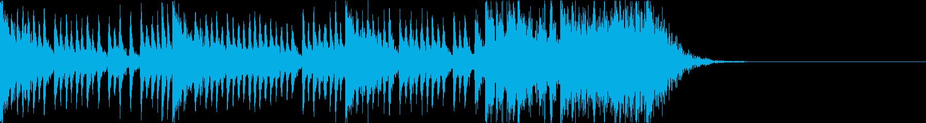 和太鼓アンサンブル/カウントダウン15秒の再生済みの波形