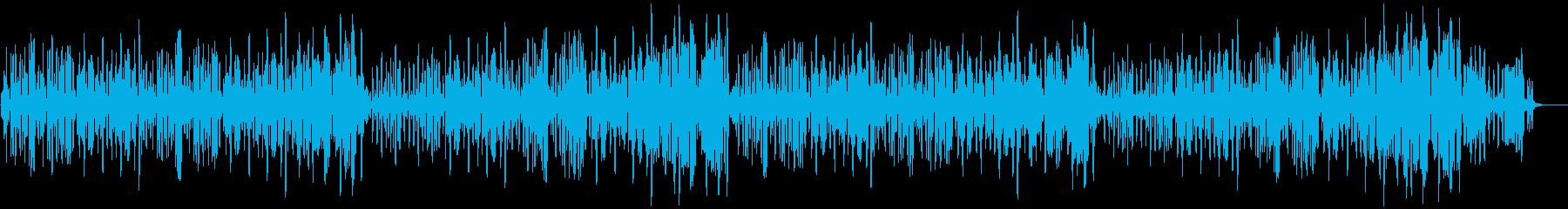 リコーダーの元気で可愛い曲2_ロングの再生済みの波形