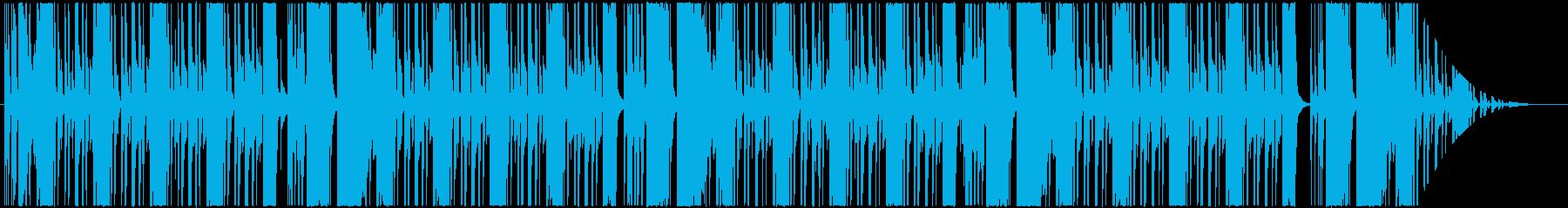 60年代JB風のR&Bインストの再生済みの波形