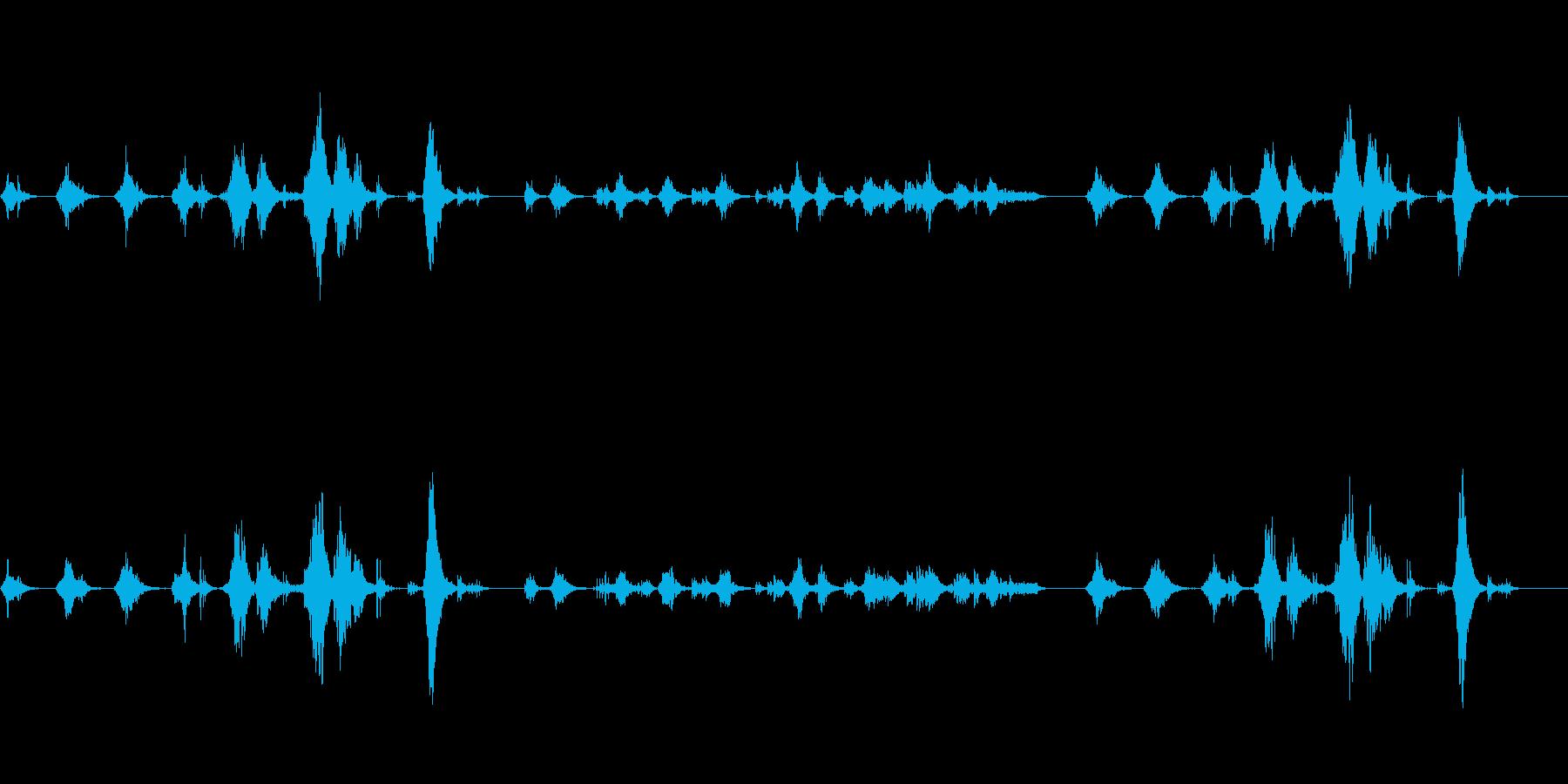 幻想的な空間で流れるイメージの楽曲ですの再生済みの波形