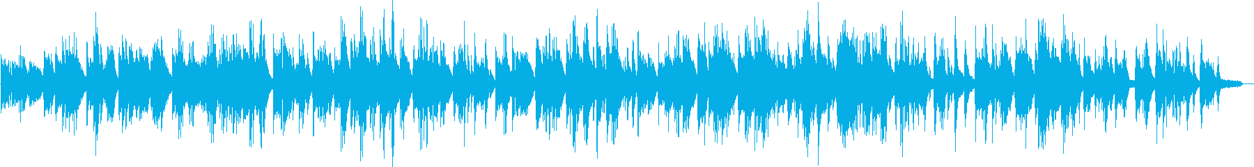 少し希望ある印象のソロピアノバラードですの再生済みの波形