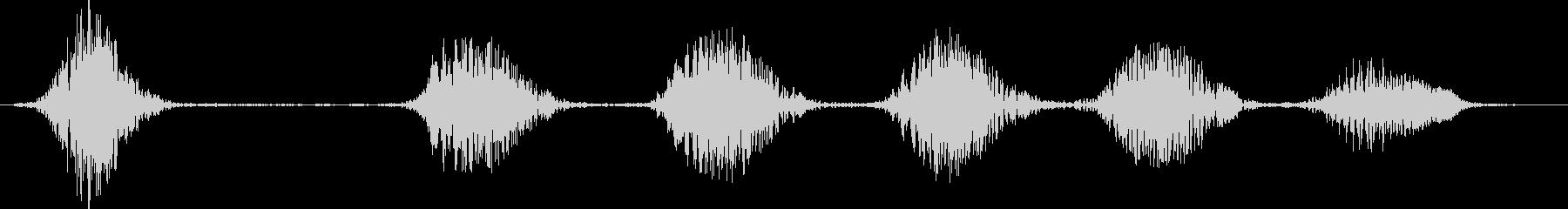 SPANIEL MIX:バーキング...の未再生の波形