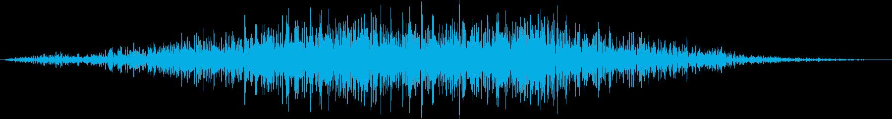 ゴゴゴゴゴ……(地響き、地震)の再生済みの波形