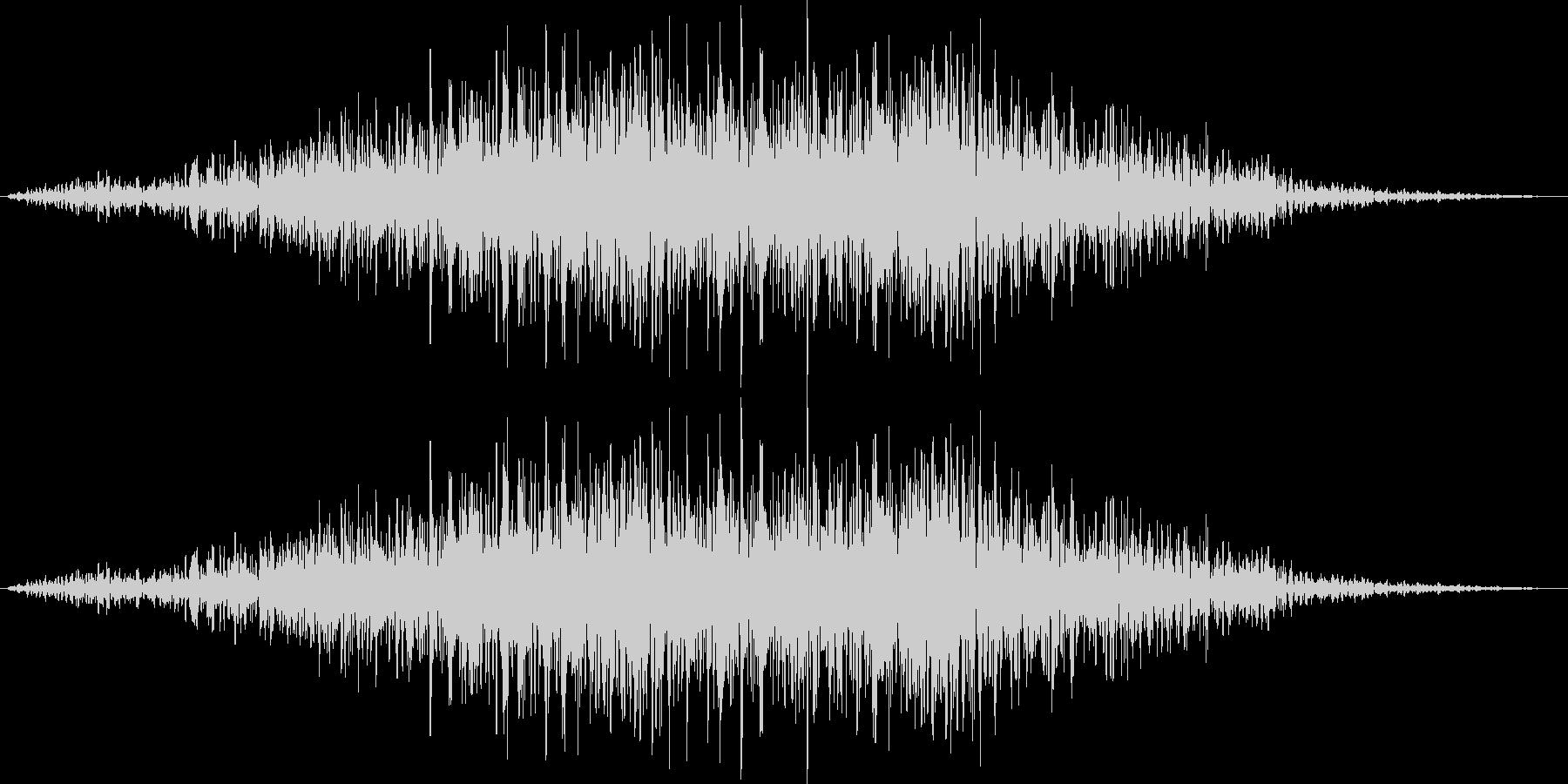 ゴゴゴゴゴ……(地響き、地震)の未再生の波形