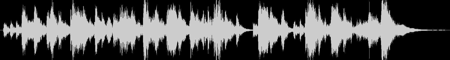 オーケストラ楽器ファンタジー漫画の...の未再生の波形