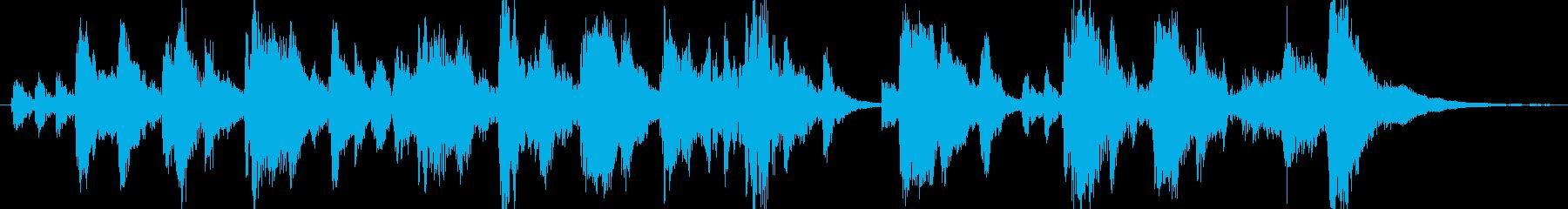 オーケストラ楽器ファンタジー漫画の...の再生済みの波形