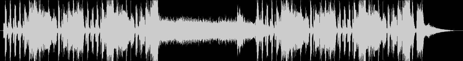 トランペットのメロディが怪しい雰囲気の曲の未再生の波形