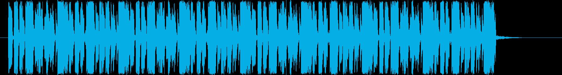 ループ素材です。ドラムンベースとなって…の再生済みの波形