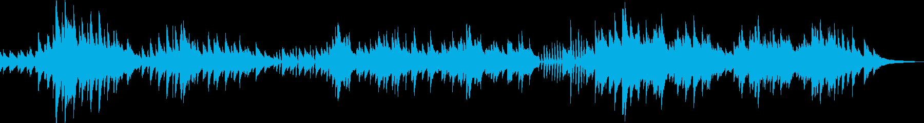 生き生きとした軽やかなピアノ曲 の再生済みの波形