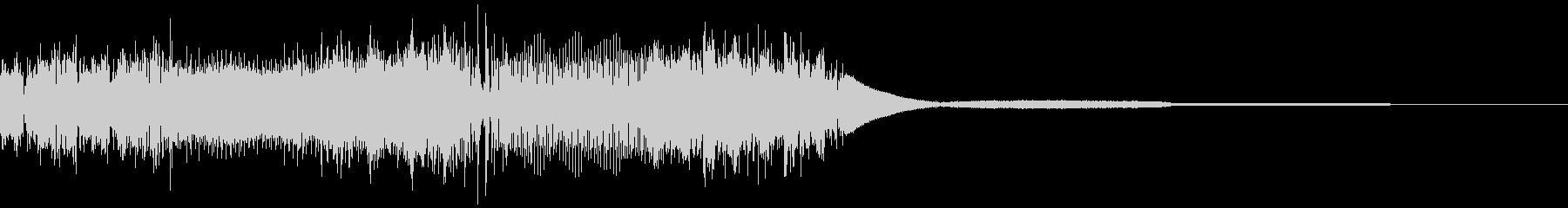 ロボットの動作音(アニメ風)の未再生の波形