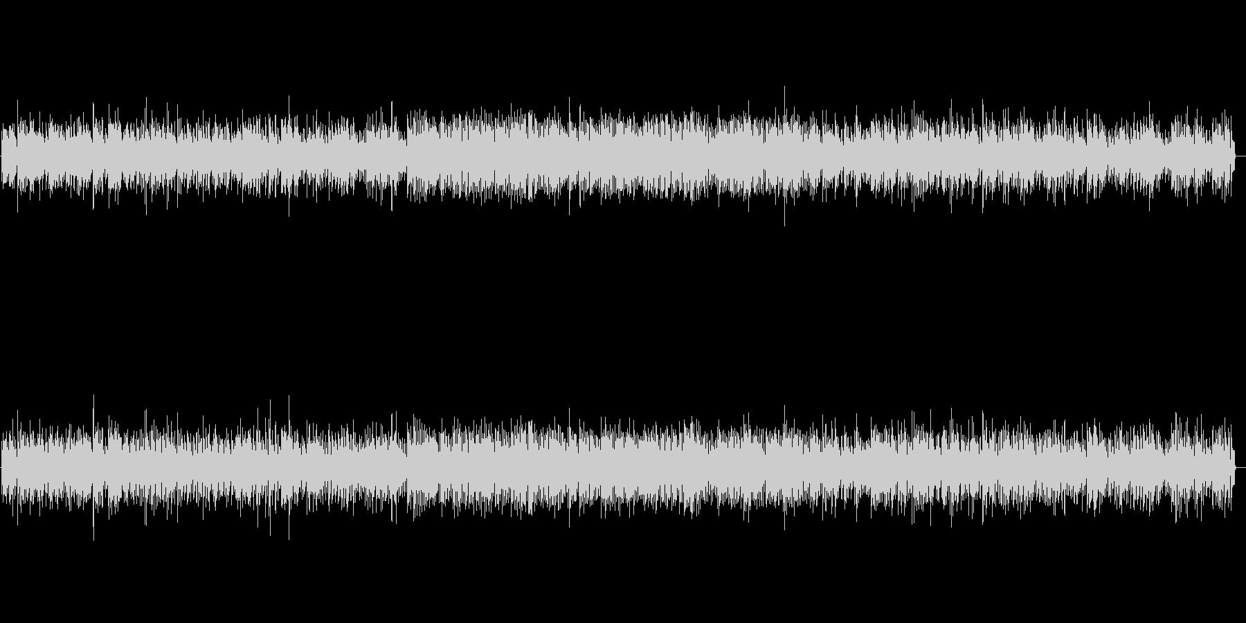 リズミカルなビブラフォンの軽やかな音色の未再生の波形