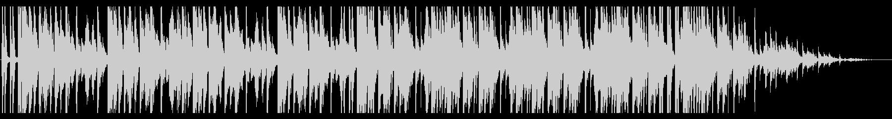 青/海/エレクトロ_No407_5の未再生の波形