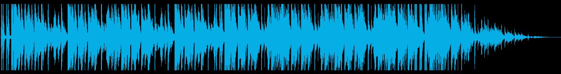 青/海/エレクトロ_No407_5の再生済みの波形