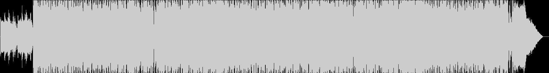 クサメロのハードロック女性ボーカルの未再生の波形