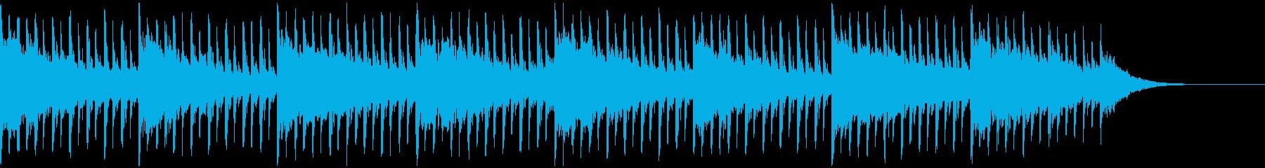 これはインタビュー(43秒)ですの再生済みの波形