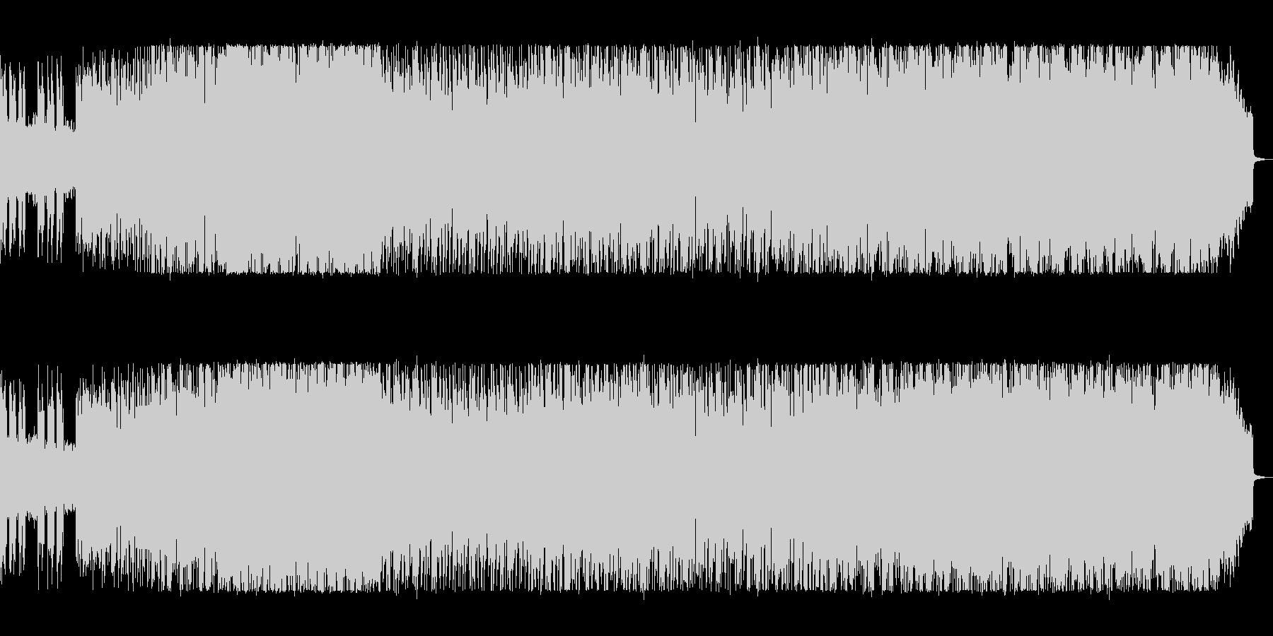 躍動感あふれるEDMの未再生の波形