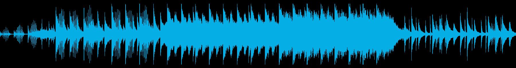 エンディングへ向かう明るく切ないバラードの再生済みの波形