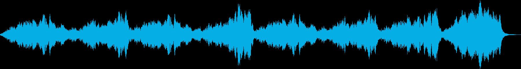 緊迫感 怖いヴァイオリン ストリングスの再生済みの波形