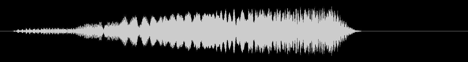 プロン(POPな場面が変わるような音)の未再生の波形