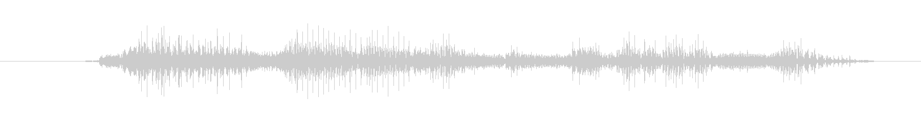鳴き声 リトルガールスノート08の未再生の波形