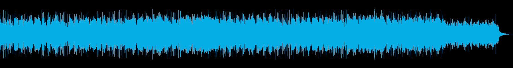 壮大で切ない印象のあるバラードの再生済みの波形