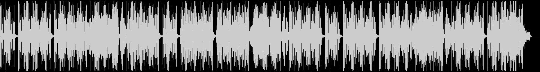 ピアノとシンセベルなどの軽い曲の未再生の波形