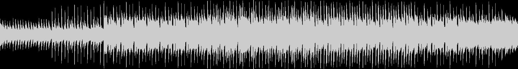 ピアノとマリンバのノリノリなループ曲の未再生の波形