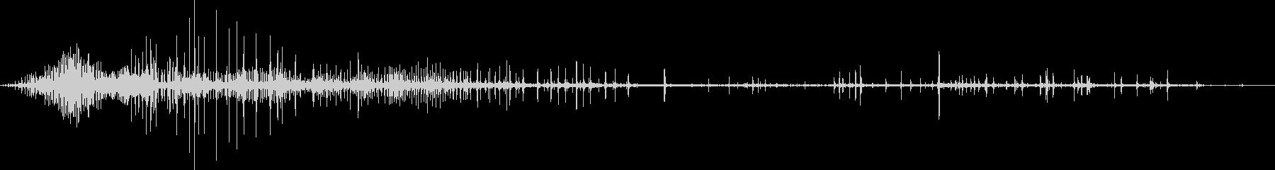 ギリギリ締め付けるような音1の未再生の波形