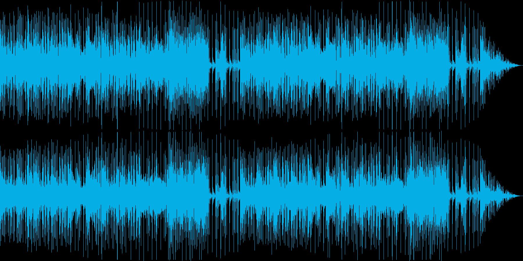 探偵・ミステリー系に適したムーディーな曲の再生済みの波形
