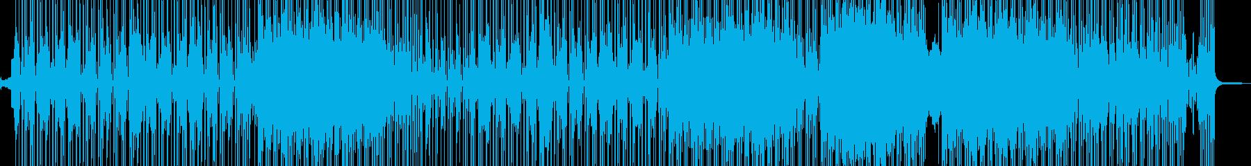 ビターエンドがテーマの切ないR&B 長尺の再生済みの波形