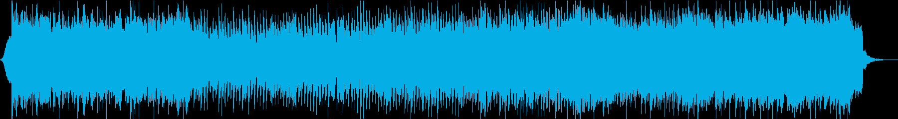 元気で勢いのあるキャッチーなロックの再生済みの波形