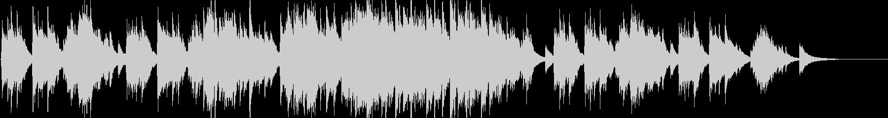 ピアノソロ 上品  切ない ブライダルの未再生の波形