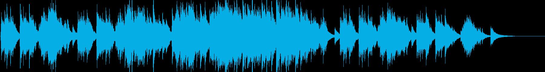 ピアノソロ 上品  切ない ブライダルの再生済みの波形