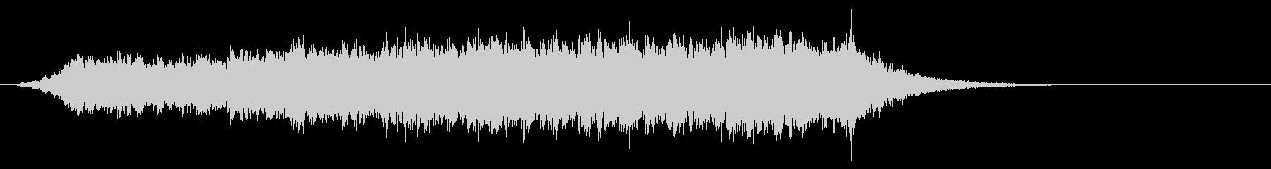 パソコンの起動音風ジングル2の未再生の波形