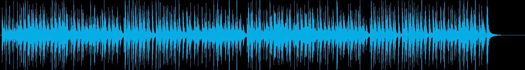 三線をメインとした楽しい沖縄音楽の再生済みの波形