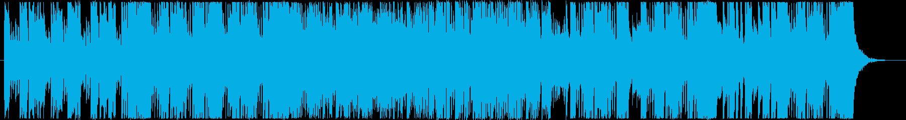 アジアンテイストな落ち着いたチルアウトの再生済みの波形