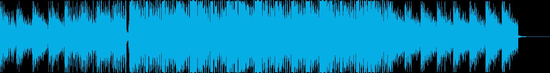 これぞ歪んだヒップホップの再生済みの波形