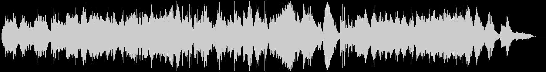 バンドネオンの悲しげなタンゴ風BGMの未再生の波形