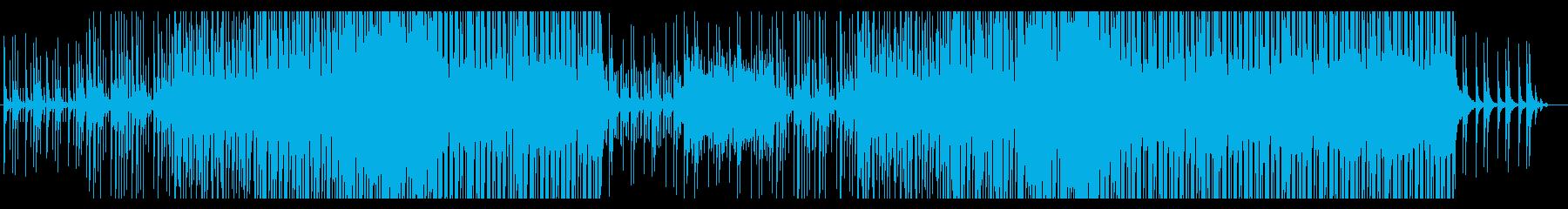 ちょっぴり切なくも温かいトロピカル楽曲の再生済みの波形