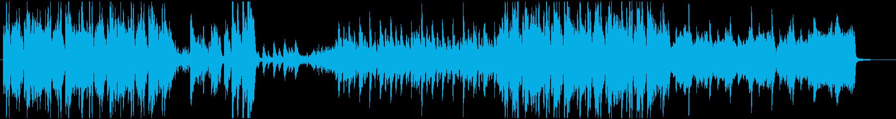 工業/アコースティック/ピアノの再生済みの波形